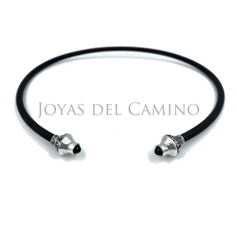 Collar torc celt necklace silver