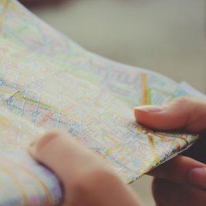Mapa guia de viajes