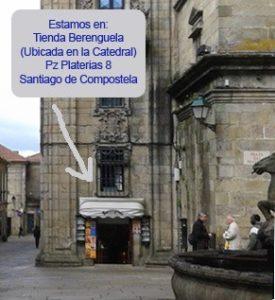 Berenguela Praza Praterias Santiago de Compostela